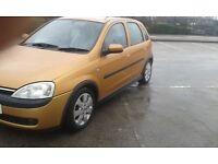 2003 Corsa SXI 1.2 , 5 door , 11 months mot , £479