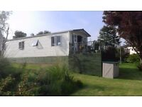 STATIC CARAVAN (38ft x 12ft) LUXURIOUS VICTORY WOODLAND VUE (SLEEPS SIX) LOCATED SOUTH AYRSHIRE
