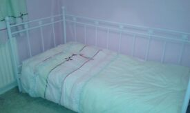 Girls single bed (full size) and matching Furniture by 'Next'