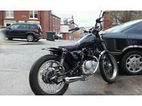 Custom Bobber motorbike