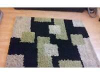 Good size shaggy rug