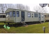BEAUTIFUL 3-BED STATIC CARAVAN FOR HOLIDAY LETS at ASHCROFT COAST, (PARK RESORTS), ISLE OF SHEPPEY