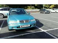 2003 Rover 45 isx