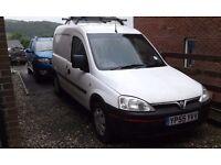 Good clean van 1 years mot no damage