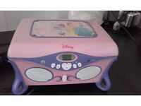 Disney Princess cd player /jewellery box