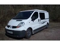 Campervan, 2007 Renault Trafic 115 bhp, LWB, Top Spec Brand New Conversion with New Engine, long MOT