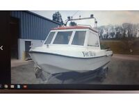 21 Foot Fast Fishing boat 2001 CALMARK FISH EAGLE 20 with 90hp Yamaha Outboard for sale