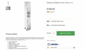 Bathroom Drawers, Wall Cabinet and Tall Cabinet, bathroom furniture