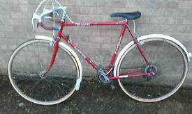 Vintage racing bike, elswick racing bike,road bike