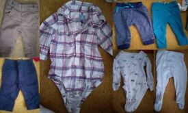 3-6 months winter baby boy bundle with jackets