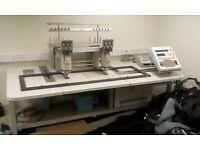 Barudan beat 802 embroidery machine