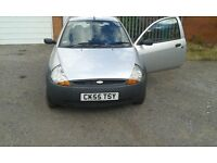 2005 ford ka 1.3 duratec engine low milage excellent first car or cheap reliable run about