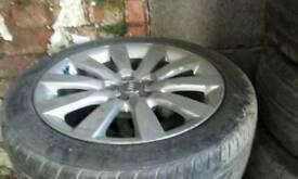 """Audi A1 16"""" alloy wheels 2012 5X112"""