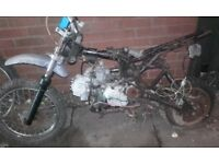 Pitbike project spares or repair