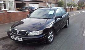 Vauxhall Omega 2.2DTI 52 Plate Black 4 Door