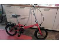 Brand new Ford b max folding bike