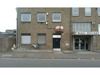 UNIT/OFFICE TO LET WITH CAR PARKING IN POLLOKSHIELDS