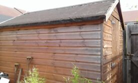 Garden shed 8x4ft