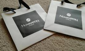 Genuine nomination bags