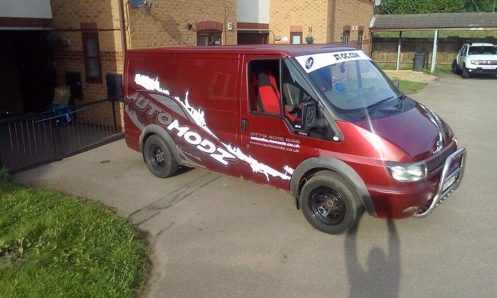 ford transit van swb modified remapped bargain price