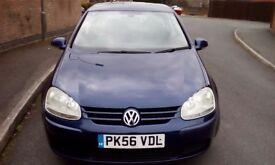 Volkswagen Golf 2006, Match, Full heated leather interior, 12 months MOT, 60mpg