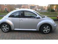 VW Beetle 2002, Very tidy, reliable car, in Beverley