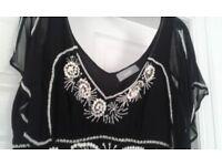 Midi dress size 14 Wallis