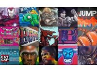 Top International Street Artist - Mural Graffiti Art - Festivals - Available UK Nationwide