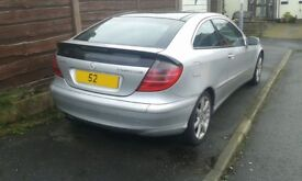 BREAKING FOR PARTS MERCEDES C230 KOMPRESSOR COUPE 2004