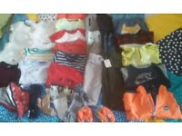 9-12 months baby boy bundle of clothes joblot