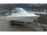 bayliner 1952 cuddy sport's boat and fishing boat
