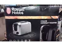 """BRAND NEW !!! Electric TOASTER """" Russell Hobbs """" COMPACT"""