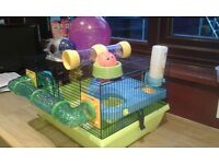 Hamster cage great condition with accessories