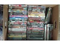 100 + dvds joblot