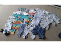 budle clothes for boy 0-3 months