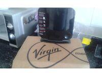 Re router modem box. Virgin