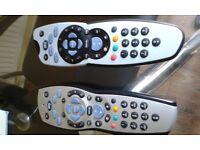 Sky box remotes