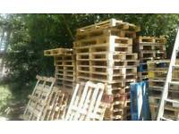 WOODEN PALLETS for Sale £5 each. Ideal for any DIY wood project. Can DELIEVER. Call to arrange.