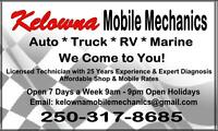 Motorhome, Camper and Trailer Mechanical Repair and Service