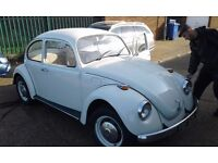 LHD VW BEETLE 1972 for sale