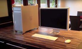 Apple Mac Pro 8 core Tower with Apple 23 Inch Cinema HD Display