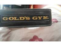 Weight training belt gym
