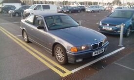 BMW E36 323i 12 month MOT