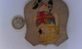 World cup Willie, Charlie Buchan's 1966 original cloth badges with their 2 relative original mags.