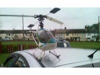 This is not a toy it's a raptor helicopter that does 50 to 60 mile an hour it's never been flown