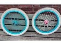 20 inch BMX wheels front 2 of vandero odyssey demolition Zero