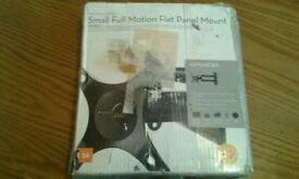 Omnimount full motion flat tv mount brand new