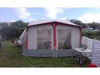 TRIO CAPAMBA CARAVAN AWNING WITH SIDE BEDROOM ANNEX