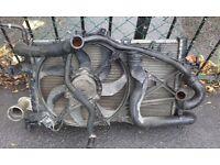 Vauxhall corsa/combo 1.3 cdti radiateor all pipes an fan £25