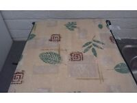 8 SEAT CUSHIONS DOUBLE SIDED FOR PATIO CHAIRS